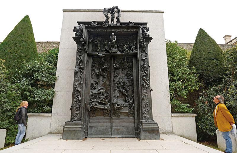 羅丹美術館 地獄門