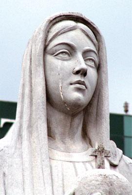 >聖母、耶穌像流淚警示未來