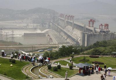 >重慶大旱的持續與三峽大壩