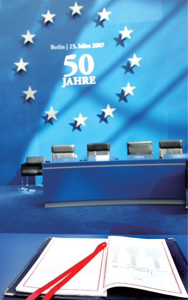 >從羅馬公約到柏林宣言:歐盟和平夢想成真