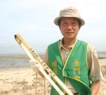 >中國海漂垃圾搶灘金門
