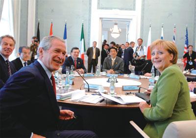 >G8峰會達共識  聯合國主導後京都議定書