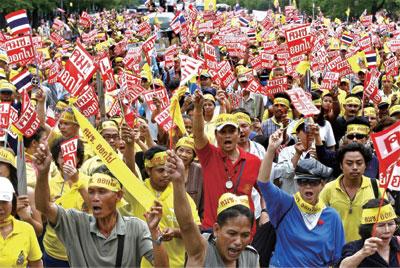 >泰國大選前政局詭譎充滿變數