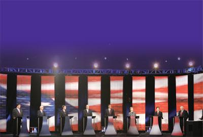 美國總統大選角逐 如火如荼