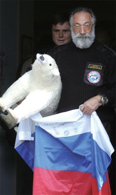 冰凍的熱點:北極之爭