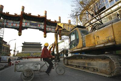 >是誰破壞了北京的古建築?