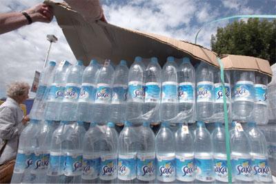 瓶裝水的苦澀
