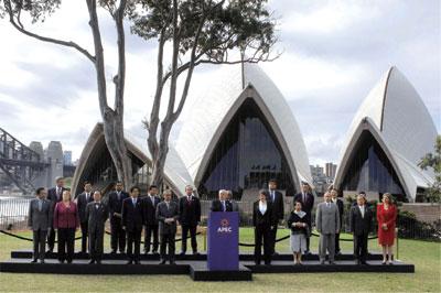 APEC峰會抗暖化達共識 人權抗議震悉尼