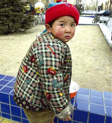 >中國農村的「留守孩子」問題