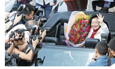 陳太獲勝世紀之戰 立法會選舉硝煙濃