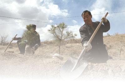 >陝西省原黃河三門峽庫區約七萬農民 向全國告訴收回土地所有權