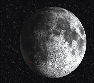 回顧嫦娥一號拍攝的月面圖像引發的爭論