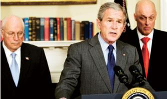 遏制經濟低迷 布什宣布一攬子計畫