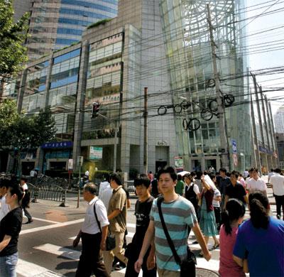 >上海中產階層的「柔性抗爭」