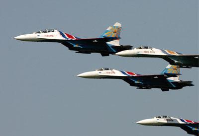 俄羅斯大動作展示軍力