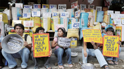 國際米價飆升 亞洲地區不安