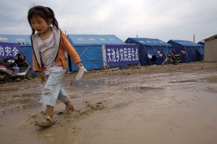 汶川大地震追蹤報導  都江堰市災區所見所聞