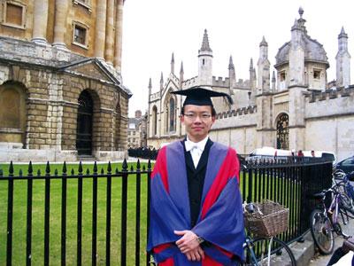 牛津博士探索之路