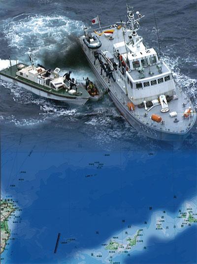瞭望東海釣魚台
