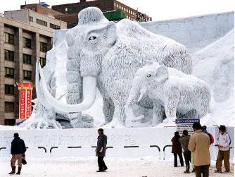 急凍長毛象