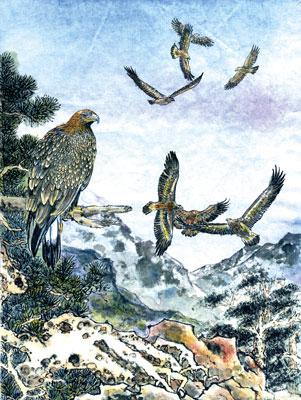 【創造】狂鳥的國度──第二幕 第一景 鷹的辯論大賽