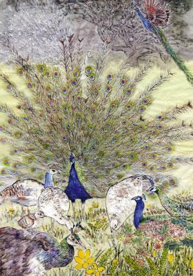 【創造】狂鳥的國度──第二幕 第三景 南國孔雀