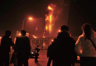 從央視火災拷問中國當代傳媒