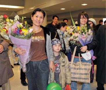 高智晟家人逃抵美國
