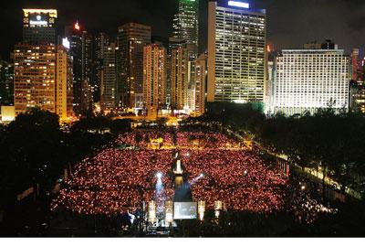 六四議題引發香港校園赤化風波