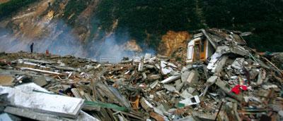 四川震區的「核」心地帶