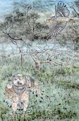 【創造】狂鳥的國度─第四幕第二景 雪兒在鳥國