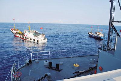 中共藉海上實力擴展影響力