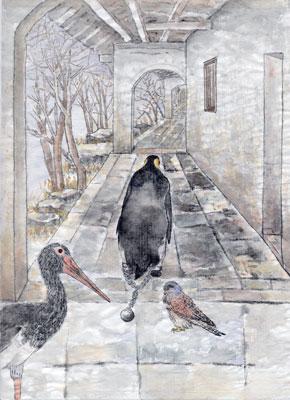 >【創造】狂鳥的國度——第六幕第三景 戴鐐銬的企鵝