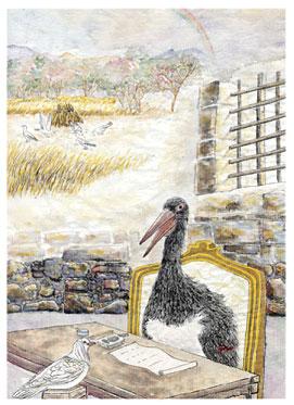 >【創造】狂鳥的國度——第六幕第四景 白鴿子