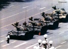 坦克人與天安門