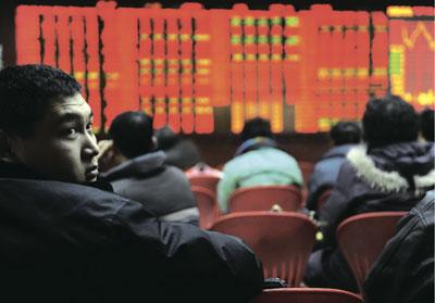 中國股市只進不退