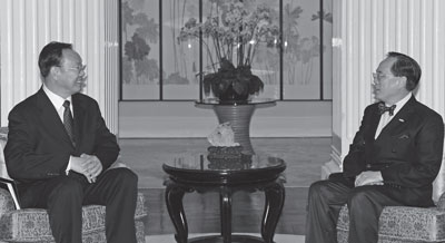 統戰部長香港出巡 暗藏殺機