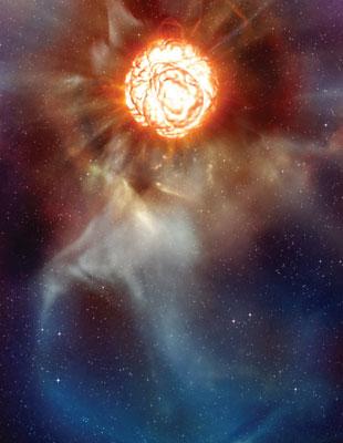 【天文發現】超級紅巨星表面劇烈沸騰
