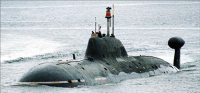 俄潛艇實彈巡航 加偵察機監視
