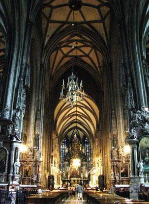 維也納精神象徵──史蒂芬大教堂