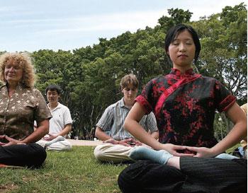 靜坐與新流感: 一個神經科學的再發現