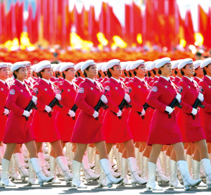 西方媒體看北京十一