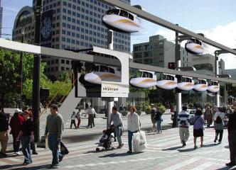 【新技術】著眼未來的磁力軌道車