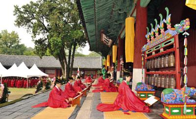 【節慶聚焦】循古禮祭孔 儒教精神在韓國