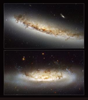 【天文景觀】速度驚人的螺旋星系