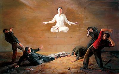 新唐人油畫大賽 找回人類正統文化