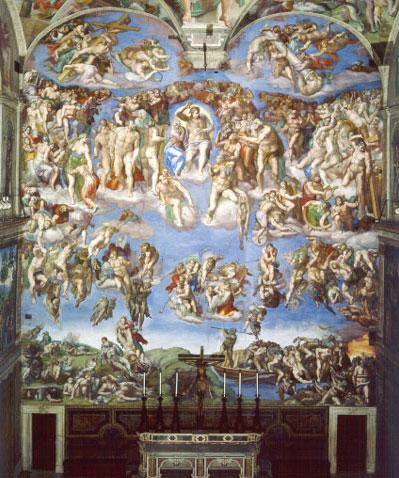 【藝術長河】氣勢磅礡的永恆之畫──米開朗基羅《最後的審判》