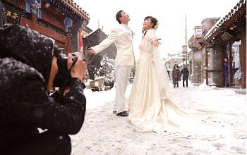 經濟退潮 中國婚禮漲潮