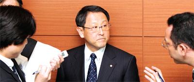 豐田太子爺社長——豐田章男