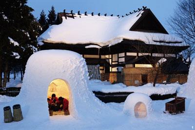 【節慶聚焦】日本雪屋節 打造雪國夢幻世界